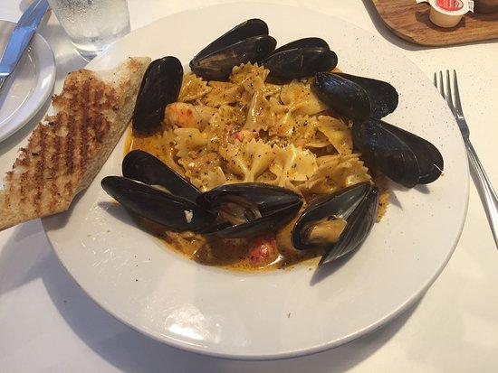 North Sydney, Kanada: Cajun Seafood Pasta