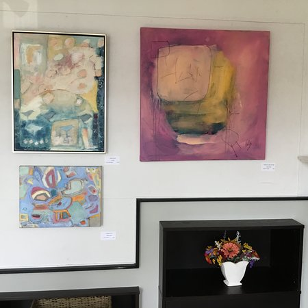 """Harwich Port, MA: A glimpse of """"Bodacious"""" exhibit at Cross Rip Gallery."""