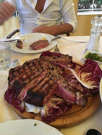 Ristorante Podere Le Vigne : bistecca