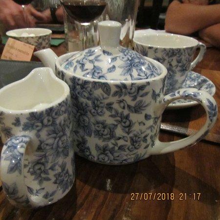Pant Yr Ochain: tea for one