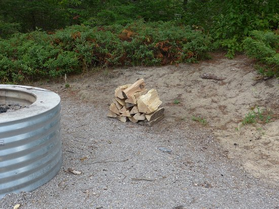 Wilderness State Park: You have to bring in firewood from nearby as the park doesn't sell any.