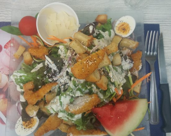 Le Belvedere (nouveau gérant bernard): Salade César