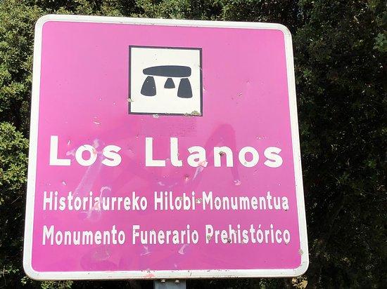 Dolmen De Los Llanos