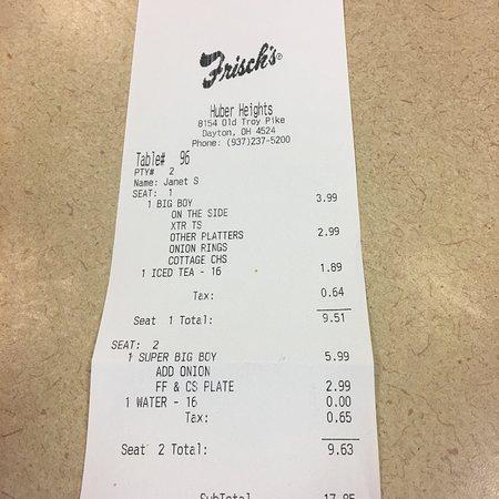 Huber Heights, OH: Frisch's Big Boy Restaurant