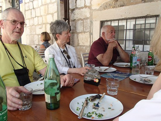 Azur Dubrovnik: Outdoor dining, Azur restaurant