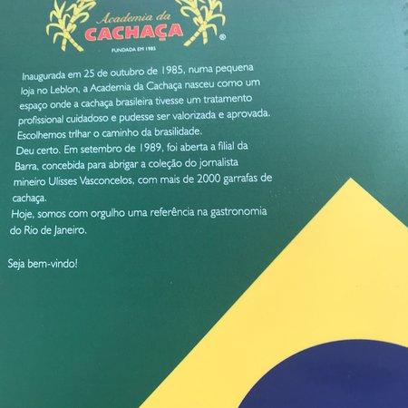 Academia Da Cachaca Comercio E Restaurante: Academia Da Cachaça