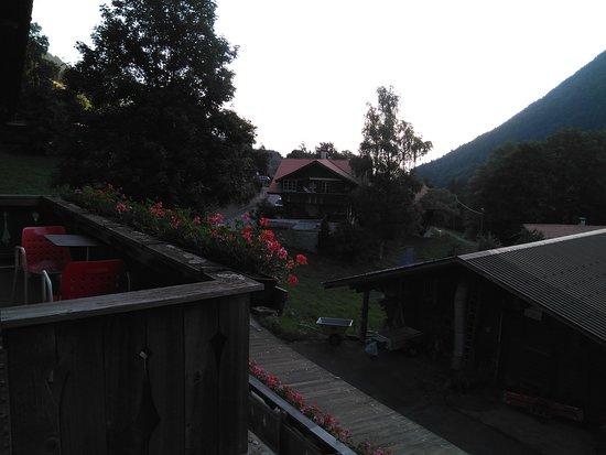 Saxeten, สวิตเซอร์แลนด์: Vistas desde la habitación