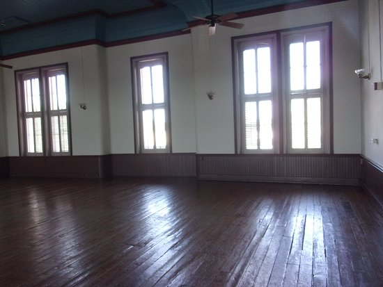 Wooden Floors And Tall North Facing Windows On Second Floor