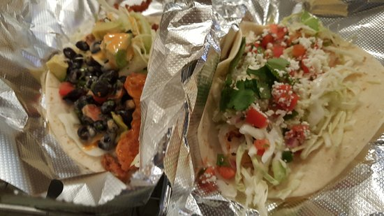 Elon, NC: Tangent - Spicy catfish taco & Taco 101 shrimp