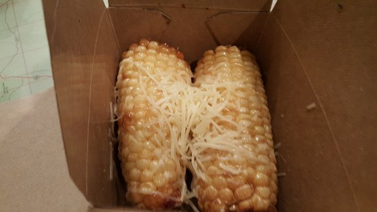 Elon, NC: Tangent - fried corn on the cob