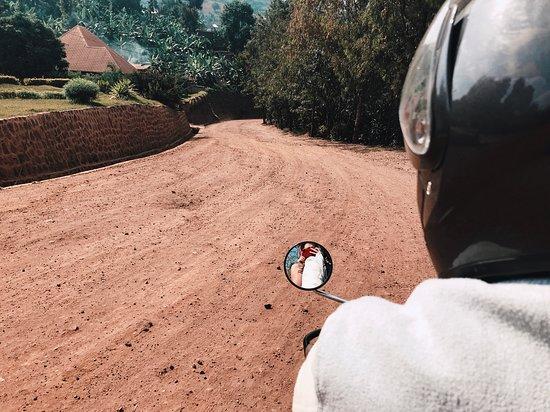 Rubavu, Rwanda: Post hiking
