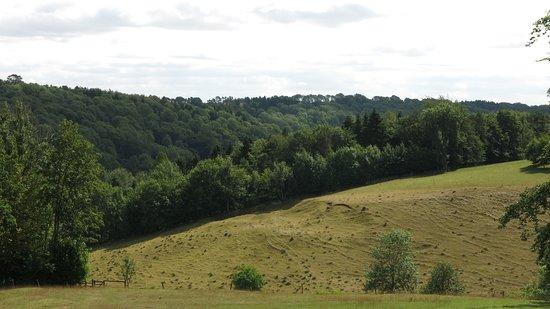 Miserden, UK: Countryside views.