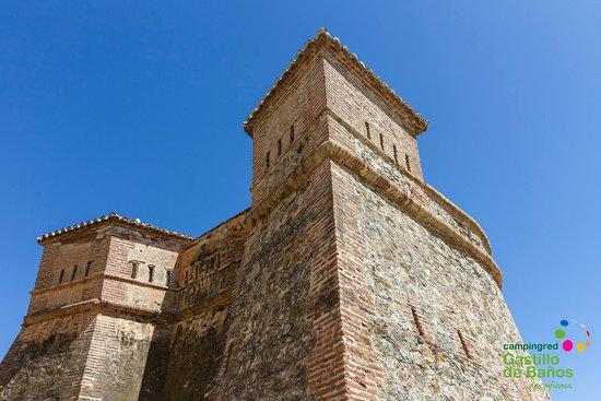 Castillo De Banos, สเปน: Camping Castillo de Baños