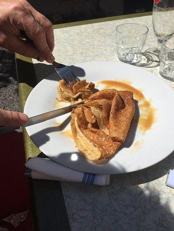 Formiguères, Francia: Crêpe
