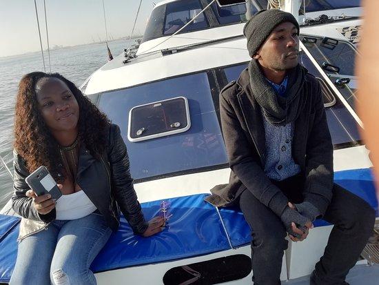 Catamaran Charters: Induction before