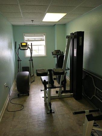 Islander Inn: Fitness Room?