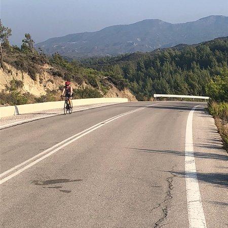 cykling på rhodos