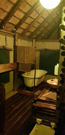 Grietjie Nature Reserve, Afrique du Sud : Banheiro