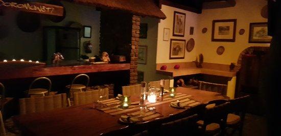 Grietjie Nature Reserve, Afrique du Sud : Sala de jantar