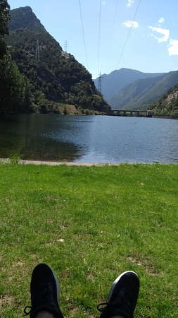 La Guingueta d'Aneu, Spain: descansando, mirando el horizanre