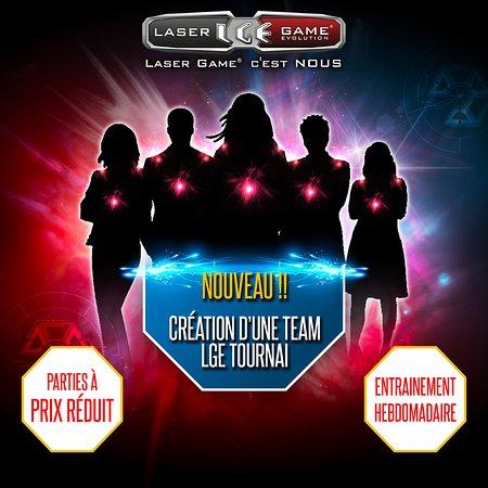 Laser Game Evolution Tournai