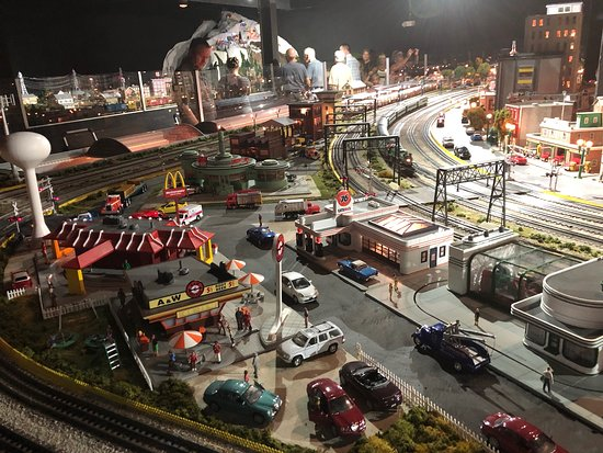 Merchants Square Model Train Exhibit