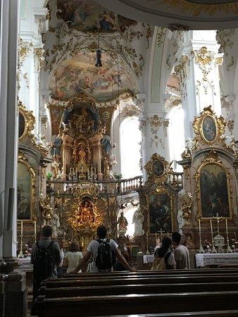 Andechs, Jerman: Intérieur de l'église