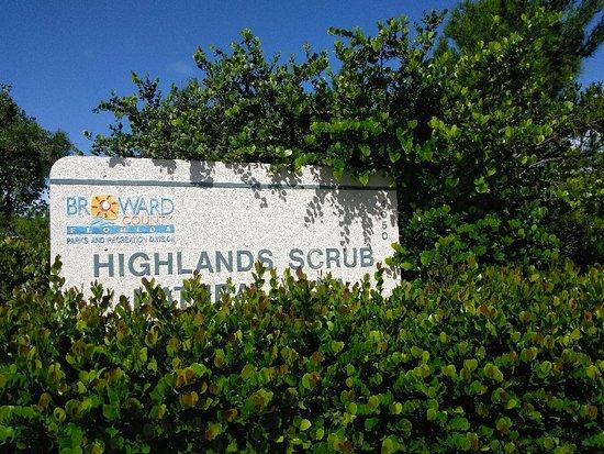 Highlands Scrub Natural Area