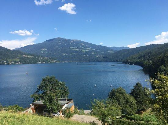 Rothenthurn, Austria: Ausblick auf den Millstätter See