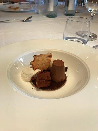Cocconato, Италия: Dolce | Tris di crema e cioccolato