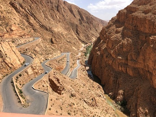 Ifrane Atlas Saghir, Marokko: Todra Gorge