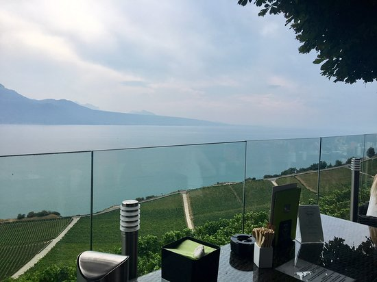 Chexbres, Swiss: view of Lake