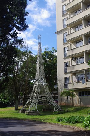 Curepipe: tour eiffel