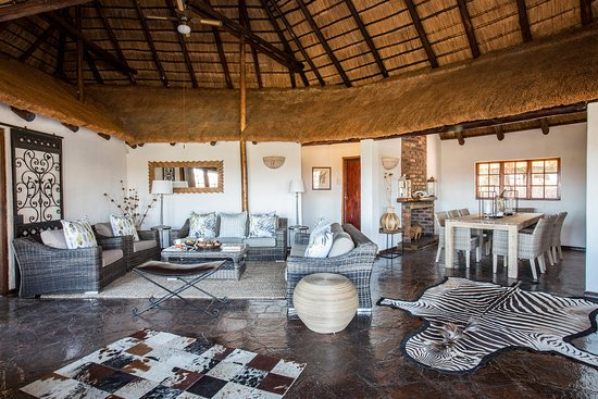 Vaalwater, South Africa: Living area