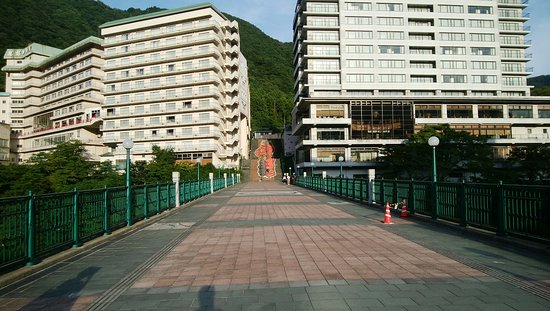 Kinugawa Onsen Fureai Bridge
