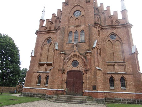 Kernave, ลิทัวเนีย: facciata chiesa
