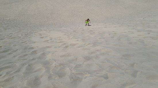Playa de Maspalomas: Takové velké pískoviště:-)