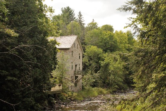 Mississippi Mills, Canada: The Mill of Kintail, originally constructed in 1830 and restored in the 1930s as a summer home.
