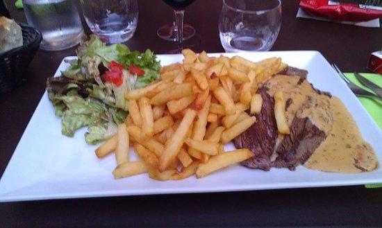 La Couronne, França: assiette classique