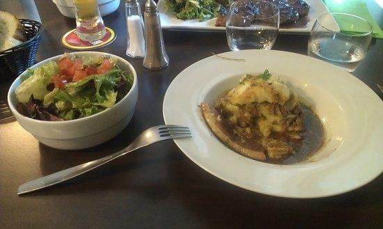 La Couronne, França: plat du jour
