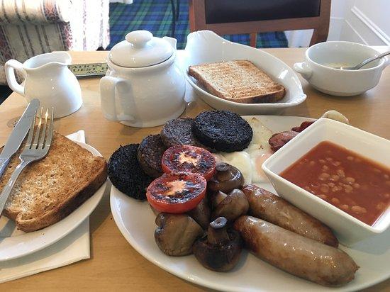 Avoch, UK: The Full Scottish !