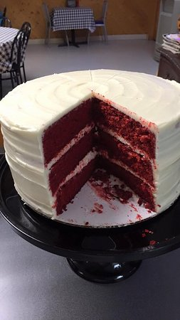 Mount Holly, Carolina del Norte: Red Velvet Cake!