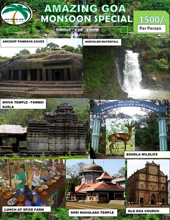 North Goa District, India: Monsoon special Trip