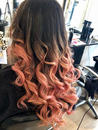 Rose Gold Balayage , Picture of No. 10, Hatherleigh