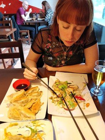 Restaurang Kokyo: Tre olika rätter att dela på!