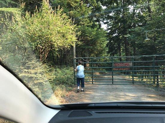 Husum, Ουάσιγκτον: Wlecome gate