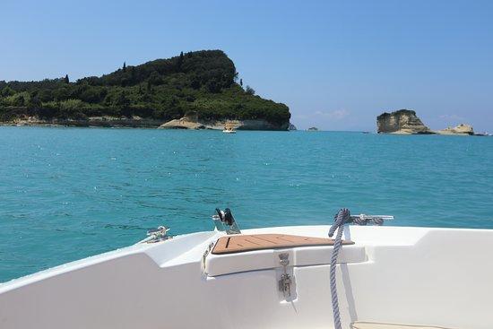Deep Blue Boats:  DeepBlueBoats - Sidari Canal d' Amour