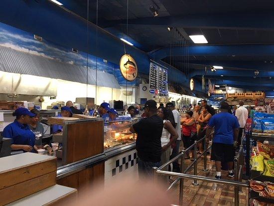 Tony's Seafood Order line