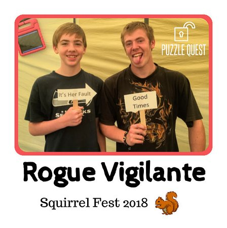 Kelso, WA: Portable Escape Room at Squirrel Fest 2018