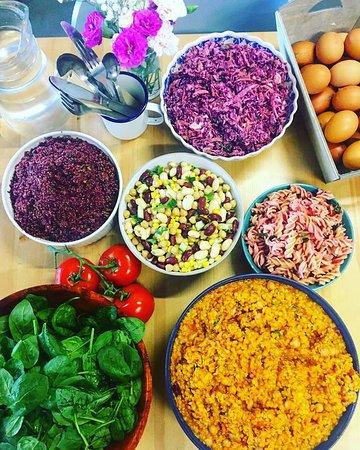 Keynsham, UK: Daily salads
